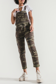 z supply Camo Overalls - Front cropped