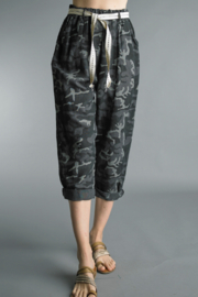 Tempo Paris  Camo Pant - Product Mini Image