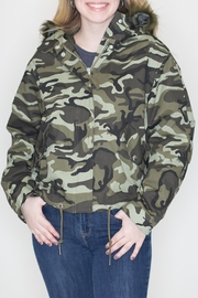 Love Tree Camo Parka - Product Mini Image