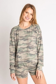 PJ Salvage Camo Pj Shorts - Front cropped