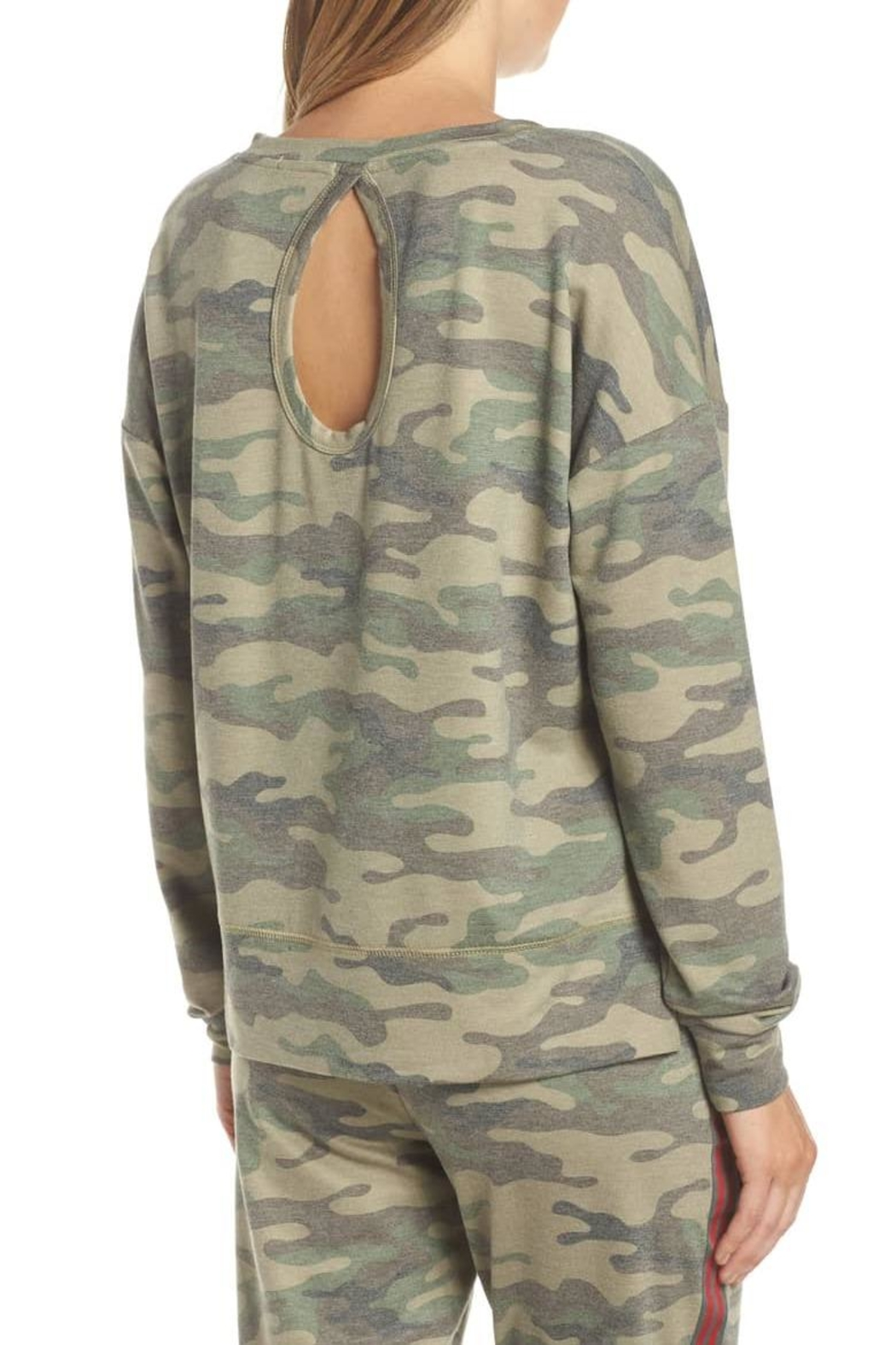 PJ Salvage Camo Pj Top - Front Full Image