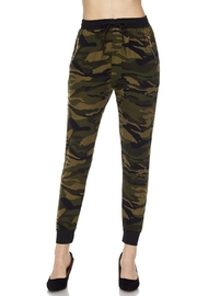 New Mix Camo Pocket Joggers - Front cropped