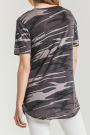z supply Camo Pocket Tee - Back cropped
