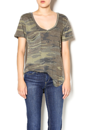 z supply Camo Pocket Tee - Front cropped