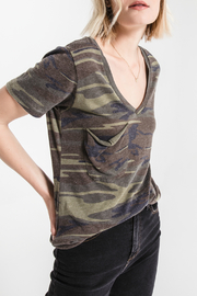 z supply Camo Pocket Tee - Side cropped