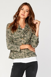 XCVI Camo Poplin Jacket - Product Mini Image