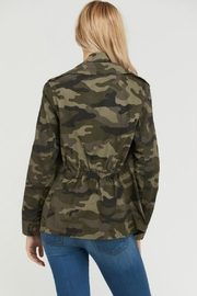 Love Tree Camo Print Anorak - Front full body