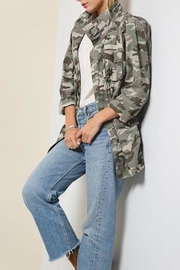 Hayden Los Angeles Camo-Print Cargo Jacket - Product Mini Image