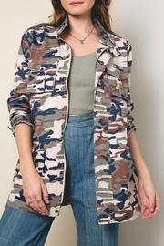 LuLu's Boutique Camo Print Jacket - Product Mini Image