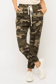 Mystree Camo Print Jogger - Product Mini Image