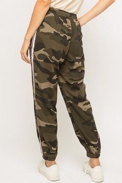 Mystree Camo Print Jogger - Alternate List Image
