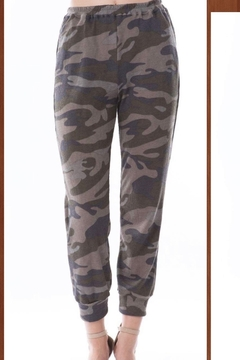 Vava by Joy Hahn Camo Printed Jogger Pants - Product List Image