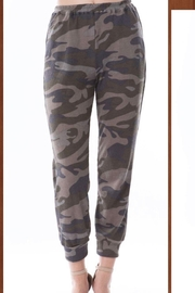 Vava by Joy Hahn Camo Printed Jogger Pants - Product Mini Image