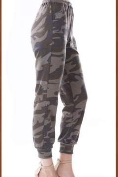 Vava by Joy Hahn Camo Printed Jogger Pants - Alternate List Image