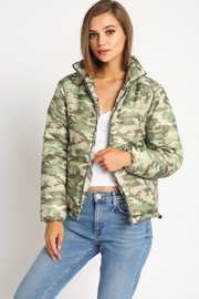TIMELESS Camo Puffer Jacket - Product Mini Image
