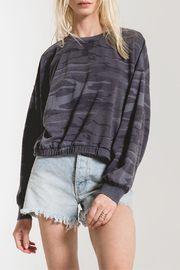 z supply Camo Relaxed Pullover - Front cropped