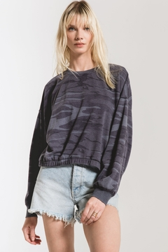 Z Supply  Camo Relaxed Pullover - Product List Image