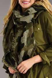 Giftcraft Inc.  Camo Scarf - Product Mini Image