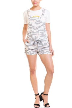 Mustard Seed Camo Short Overalls - Product List Image