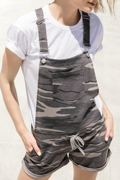 z supply Camo Short Overalls - Product List Image