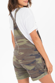 z supply Camo Short Overalls - Side cropped