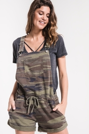z supply Camo Short Overalls - Product Mini Image
