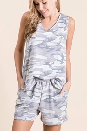 Lime n Chili Camo Short Set - Front cropped