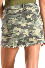 Tractr Blu Camo Skirt - Side cropped