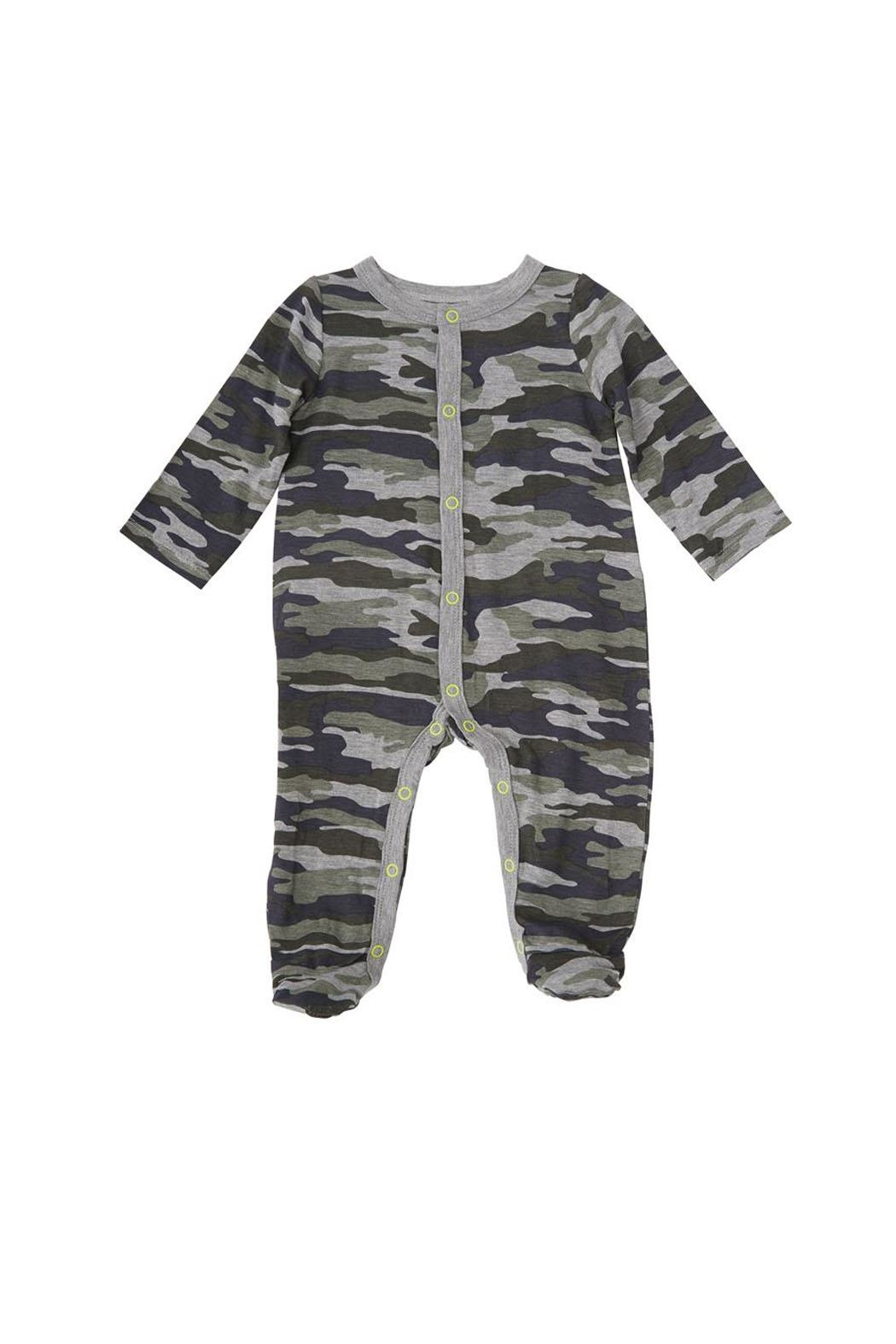 Mud Pie Camo Sleeper - Front Cropped Image