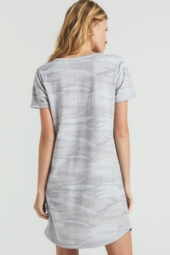 z supply Camo Split Neck Dress - Alternate List Image