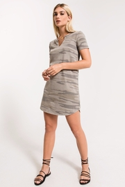 z supply Camo Split-Neck Dress - Product Mini Image