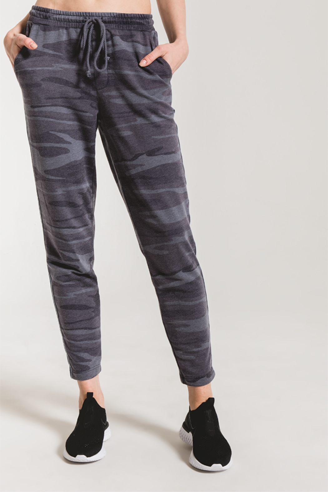 z supply Camo Sporty Jogger - Front Full Image