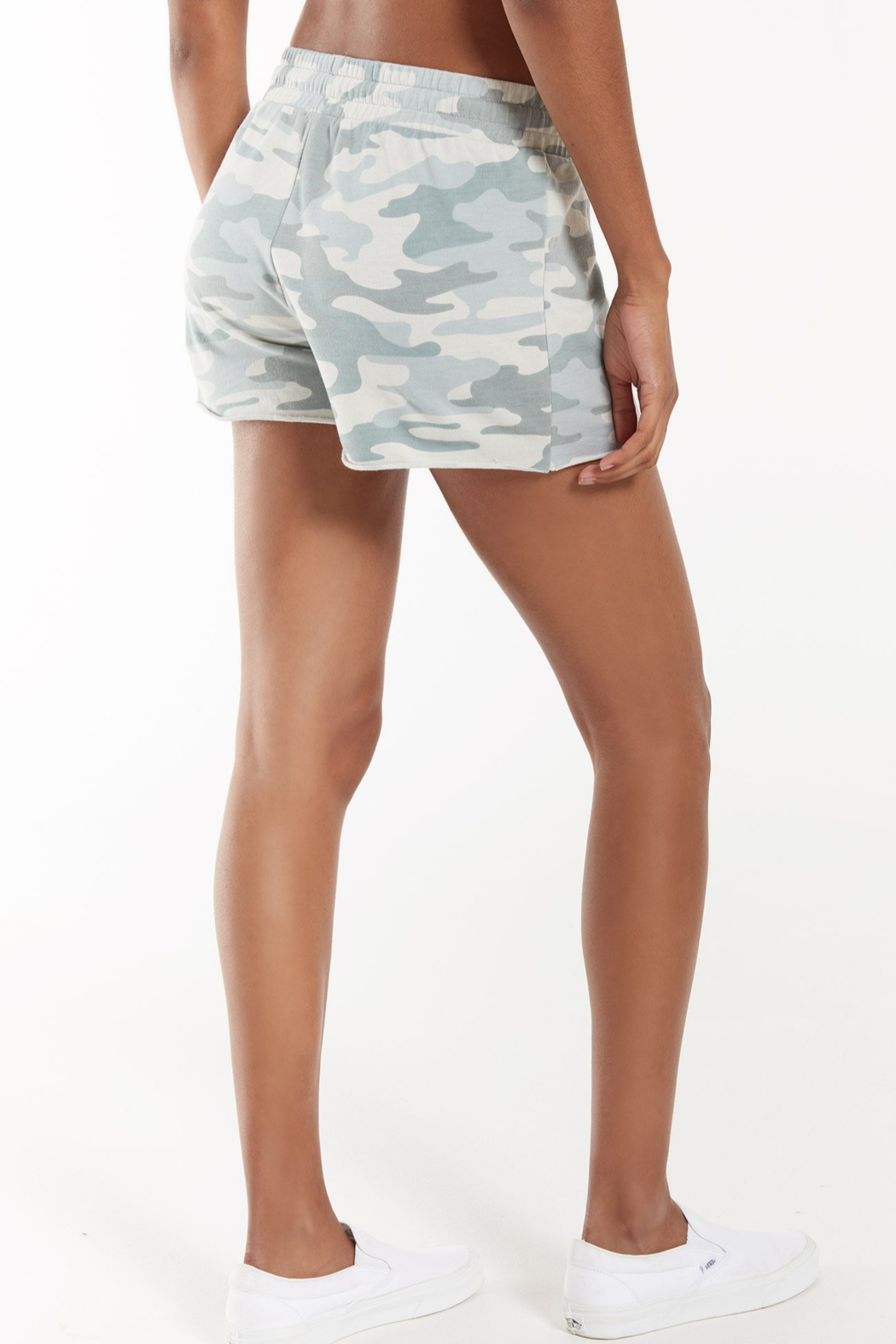 z supply Camo Sporty Short - Front Full Image