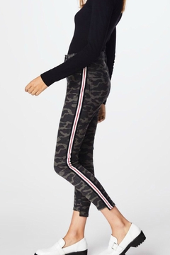 Artelier Nicole MIller Camo Striped Jeans - Alternate List Image