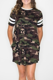 Cherish Camo Swing Dress - Product Mini Image