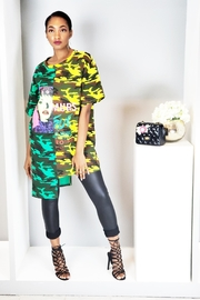 MODChic Couture Camo T-Shirt Dress - Product Mini Image