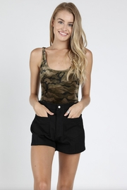 Honey Punch Camo Tank Body-Suit - Product Mini Image