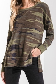 z supply Camo Thermal Tee - Product Mini Image