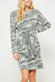 Promesa Camo Tie Dress - Product Mini Image