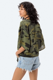 Lovestitch Camo Tie Top - Other