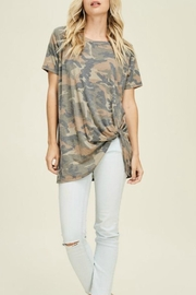 Jodifl Camo Top - Front cropped