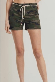 Letters to Juliet Camo Trouser Shorts - Product Mini Image