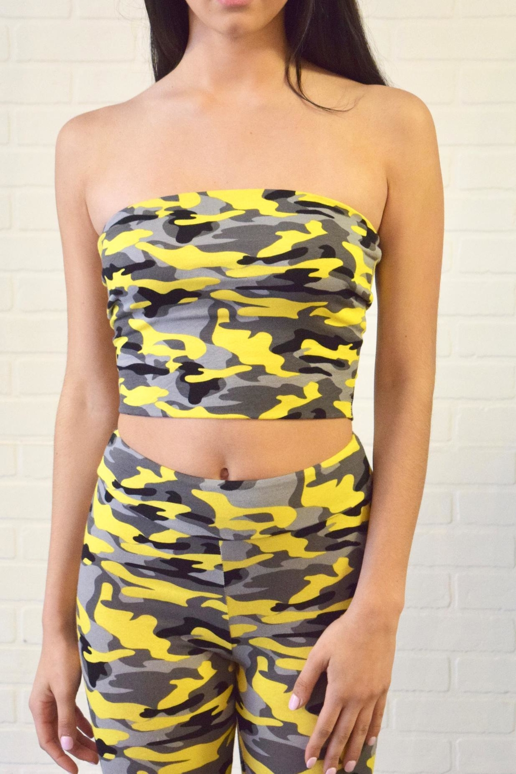 996fcfb3653 Better Be Camo Tube Top from New York by Dor L'Dor — Shoptiques