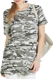 Mud Pie Camo Tunic Tee - Product Mini Image