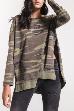 Shoptiques Product: Camo Weekender Sweatshirt