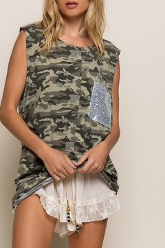 POL  Camo with Sequins - Product List Image