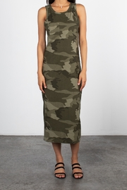 Mod Ref Camoflauge midi dress - Product Mini Image