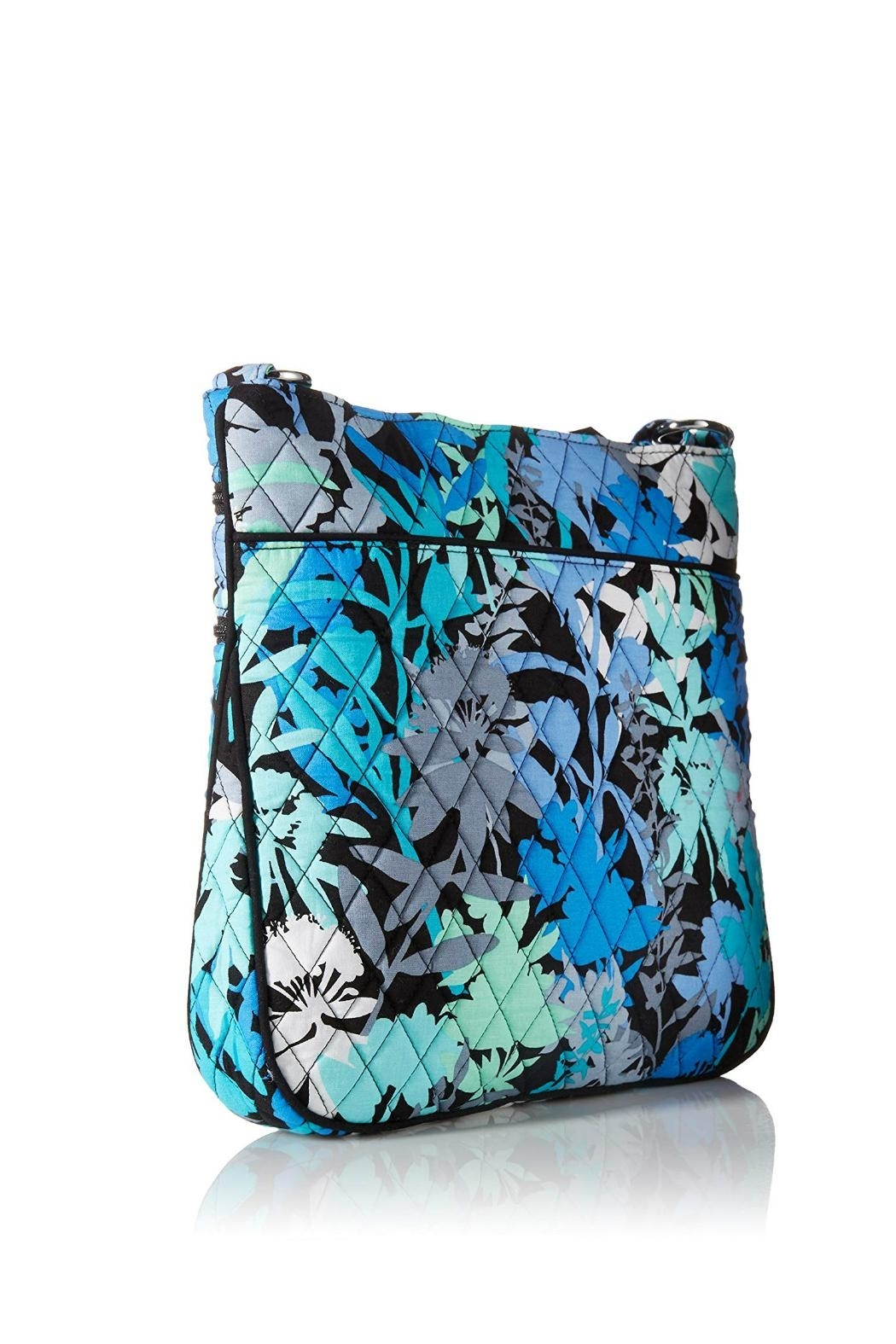 Vera Bradley Camofloral Triple-Zip Hipster - Front Full Image