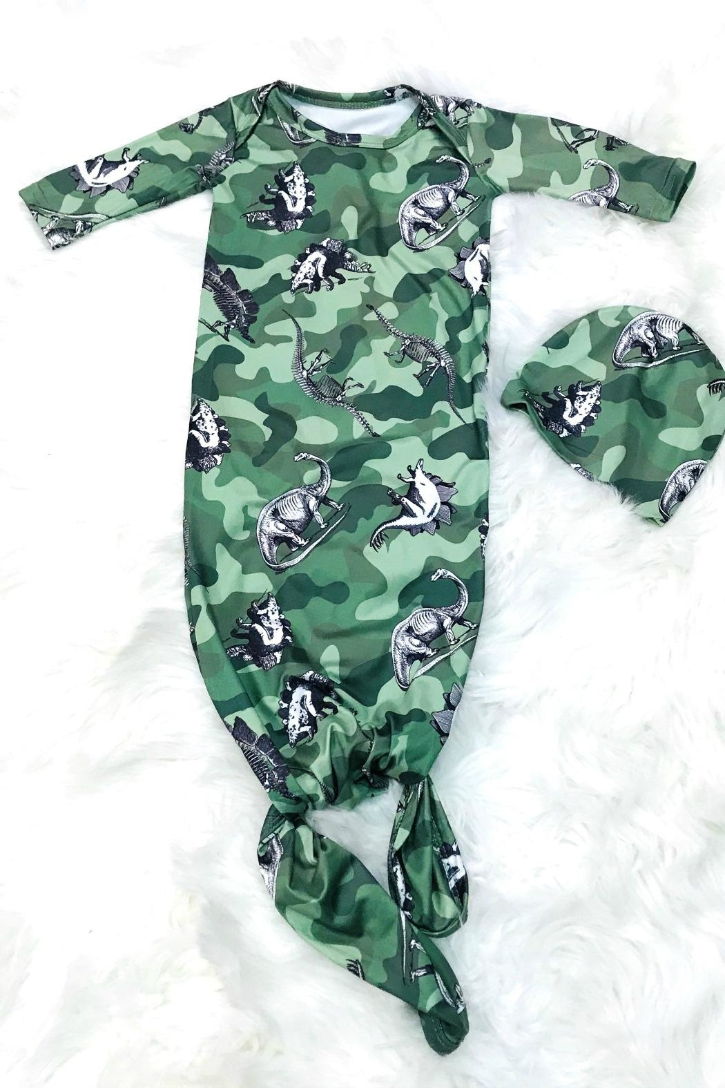 Lady Charm Camouflage Baby Gown - Main Image