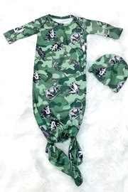 Lady Charm Camouflage Baby Gown - Front cropped